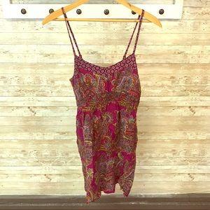 Handkerchief summer dress with pockets